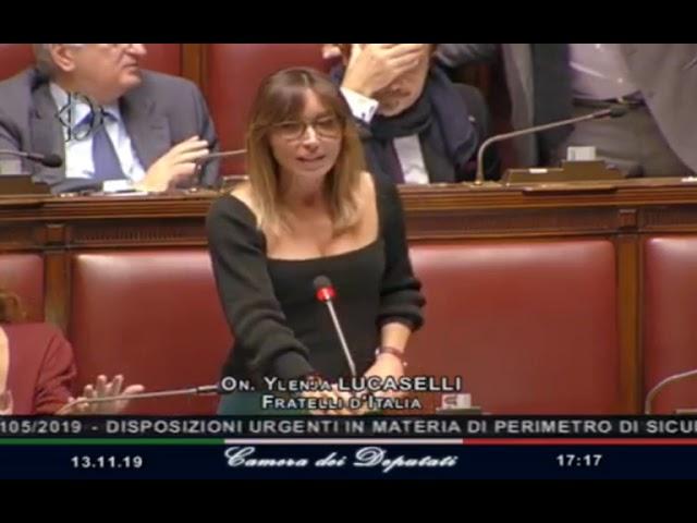 L'intervento dell'On. Ylenja Lucaselli sulla sicurezza nazionale cibernetica