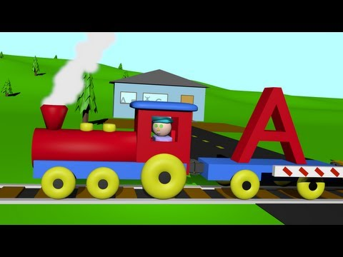 Thumbnail: An Alphabet Train - Learning Letters