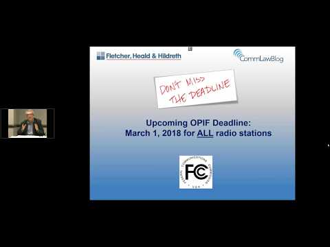 Online Public Inspection Files  A Refresher Webinar