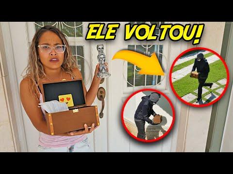 ADMIRADOR SECRETO APARECEU NA NOVA MANSÃO! (MUITO MEDO) - KIDS FUN