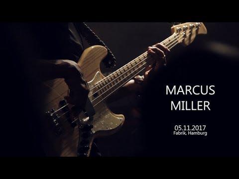 MARCUS MILLER in Hamburg, 05.11.2017 (full concert)