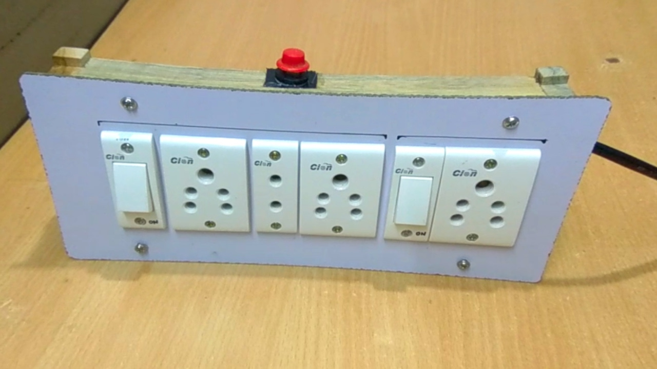 Custom Extension Cord with Fuse | Homemade Electric Board Circuit ...