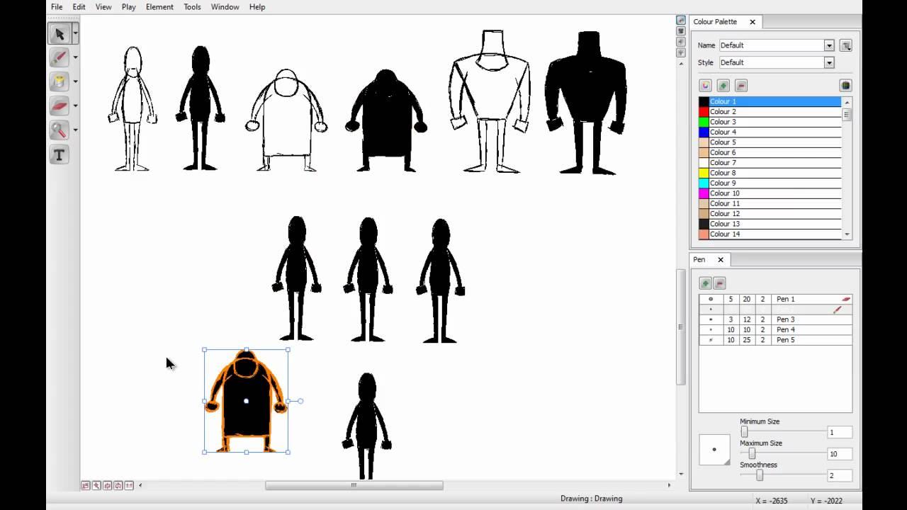Toon Boom Character Design Tutorial : Toon boom studio tutorial youtube