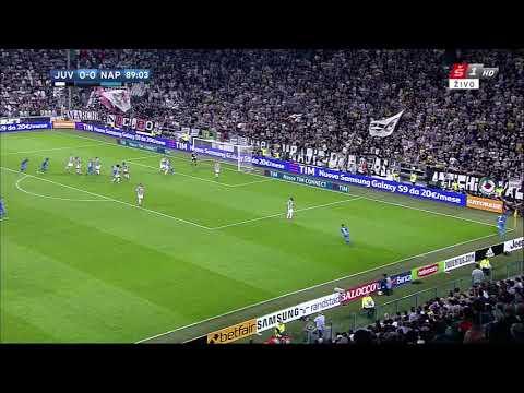 Koulibaly Power Header 0-1 Juventus vs Napoli 22/04/2018