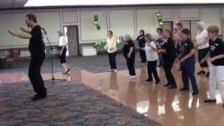 SAMBALERO Samba Line Dance @ 2012 IRA WEISBURD SAN ANTONIO TEXAS WORKSHOP.m2ts