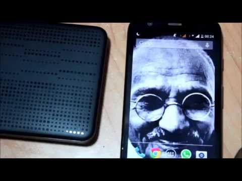 How to - Connect External Hard Disk to OTG Android Tablet