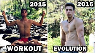 1.5 Years Amazing WORKOUT and NATURAL Body Transformation | Bar Brothers