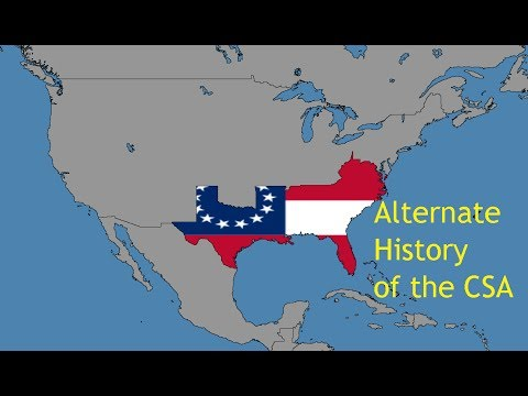 Alternate History of the Confederate States of America (1860-2017)