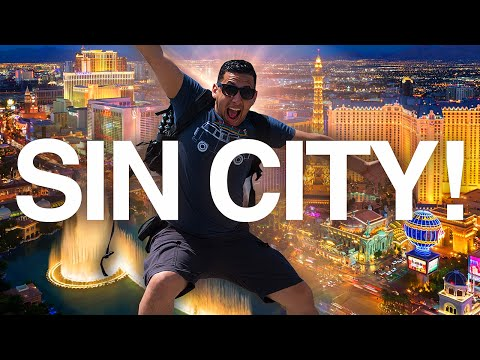 Sin City MADNESS! | STRIPPERs, Helicopters, and TATTOO's | Las Vegas & Hoover Dam VLOG