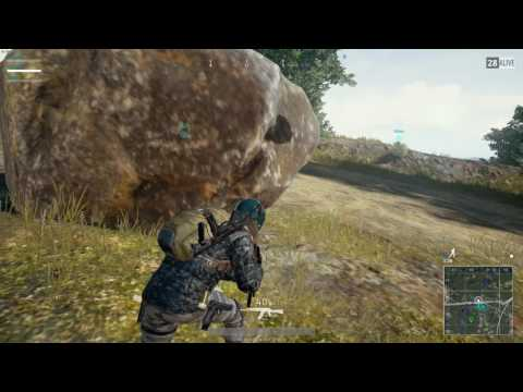 Cheating death with first aid kits - PUBG Squad Win