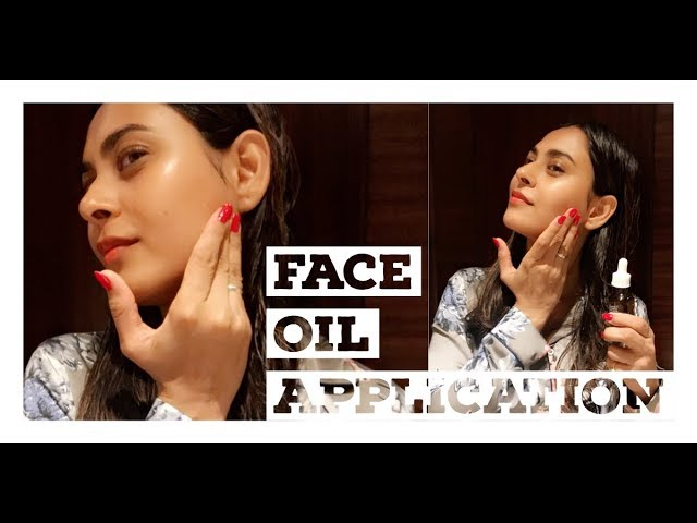 Best Face Oil for Dry Skin| Palmer's Coconut Oil (Face Oil) Application| Benefits|