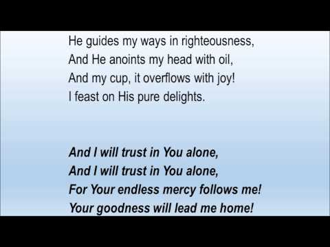 the lord is my shepherd stuart townend pdf
