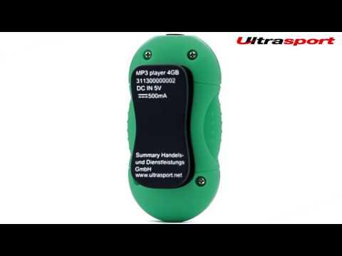 Ultrasport 4GB mp3 Player Wasserdicht