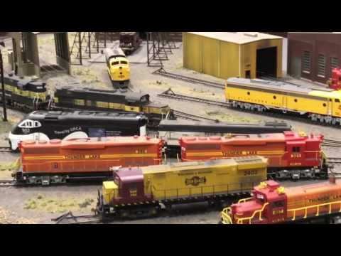 Mad City Model Train Show 2017 (2/19/17), Z to O scales!