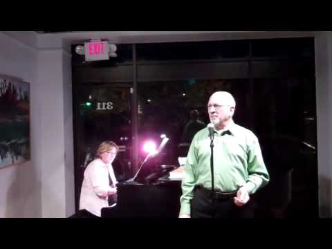 "Chuck Lavazzi Sings ""Waltz Me Around Again, Willie"" At The April Open Mic Night"