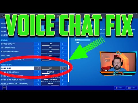 Parental Control Fortnite Voice Chat Locked - FIX