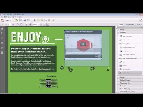 PlayYouTube Videos In A PDF!