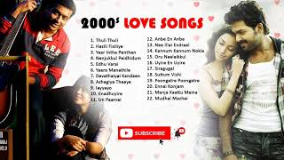 2000s Best Tamil Songs Jukebox Playlist [Subscribe 4 More]