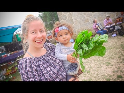 COMMUNITY FARMERS MARKET IN PORTUGAL - Our first Time Here