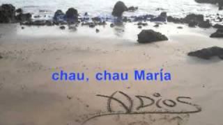 CHAU CHAU MARIA   KARAOKE   LOS BRIOS