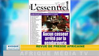 KIOSQUE PANAFRICAIN DU 05  02 2019