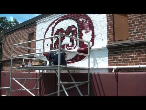 Hudson Sign Co - Christian Federico 23 Wall - Ossining High School