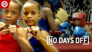 10-Year-Old Twin Boxing PRODIGIES | Grandy Twins Training