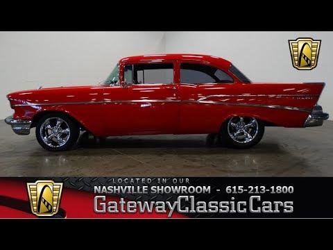1957 Chevrolet Belair Gateway classic cars-Nashville # 509