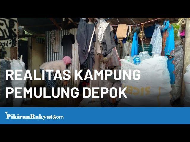 Dibalik Berdirinya Mall Mewah Begini Realitas Kampung Pemulung Depok