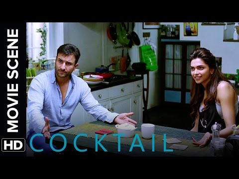 Saif talks it out with Deepika & Diana | Cocktail | Movie Scene