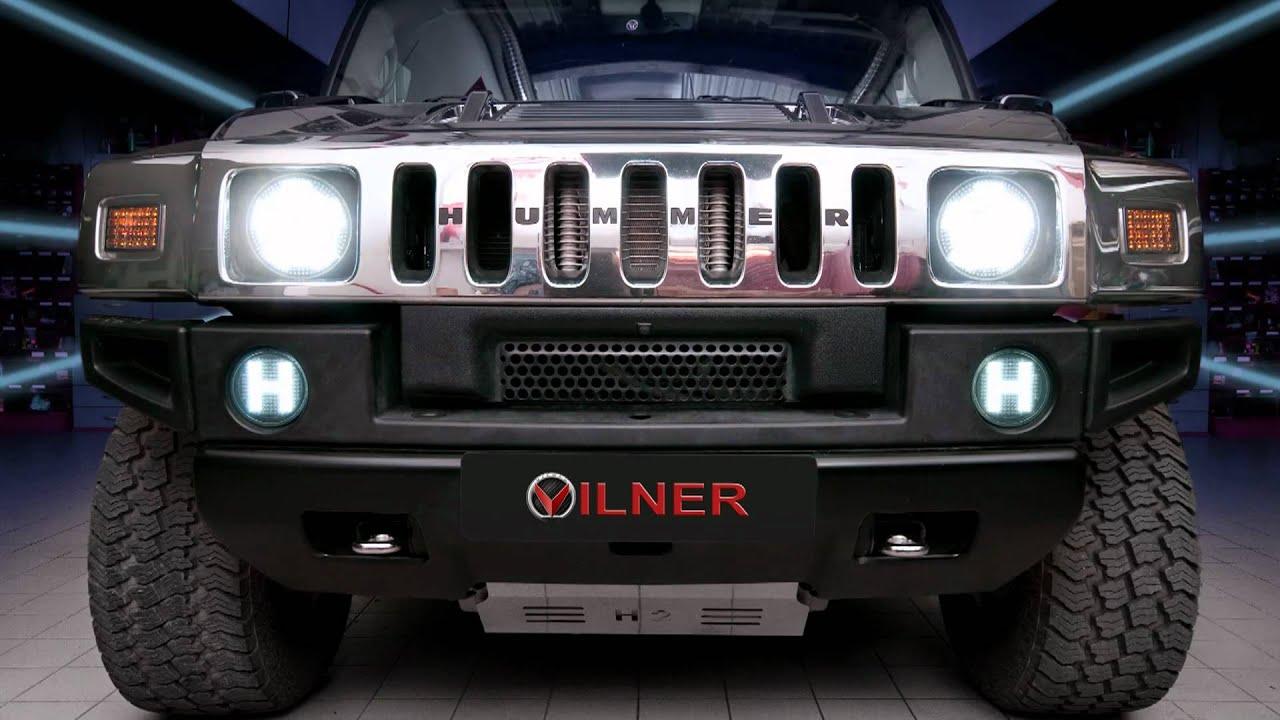 Led Front Lights For Hummer Custom Made By Vilner Youtube