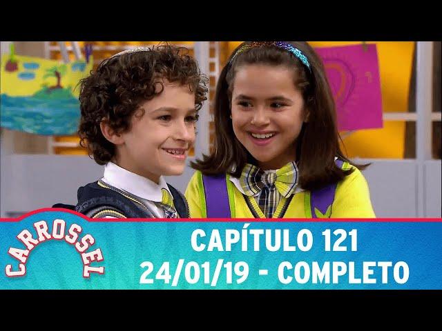 Carrossel | Capítulo 121 - 24/01/19 - completo