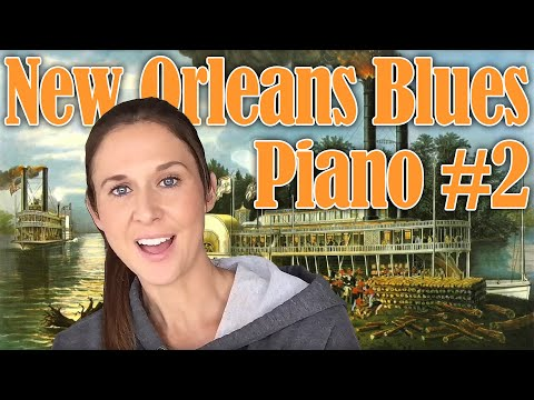 New Orleans Blues Piano #2