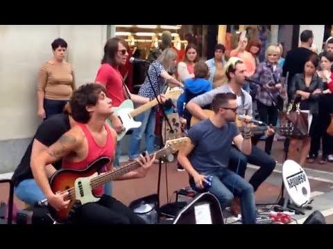 Guitar, Bass, Cajon & Vocal Performance by Keywest Band @ Dublin