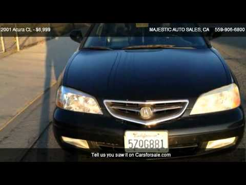 Acura CL CL For Sale In CLOVIS CA YouTube - 2001 acura cl for sale