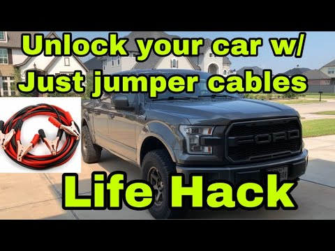 Everyone Should Know How To Do This! (how To Break Into A Locked Car)