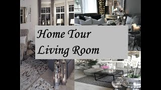 HOME TOUR | ON A BUDGET | LIVING ROOM | SIMPLE  DECOR 2018