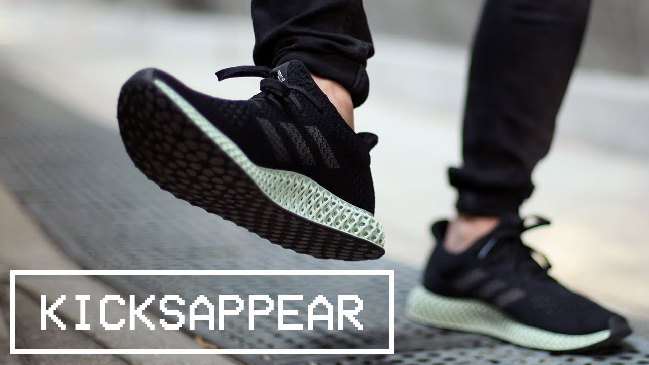 release date: 2592b 700c3 Review  adidas Futurecraft 4D Ash Green feat. Carbon