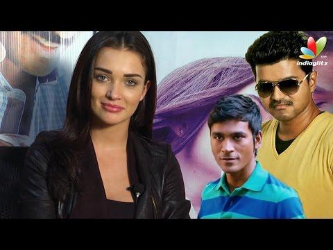 Amy Jackson Interview On Vijay's Theri and Dhanush's Thanga Magan | Vijay 59, VIP 2