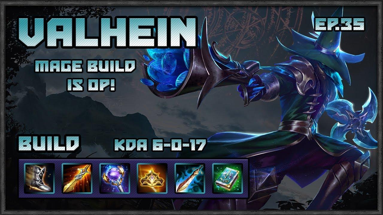 Arena Of Valor Valhein Magic Build Is Op