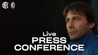 INTER vs AC MILAN | LIVE | ANTONIO CONTE PRE-MATCH PRESS CONFERENCE | 🎙️⚫🔵 [SUB ENG]
