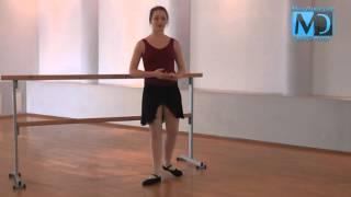 Классический балет. Видео урок №2 от MostDance.com (М. Бурляй)
