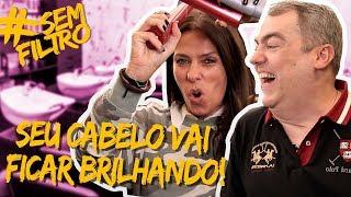 LOUCA POR CABELOS com Marco Biaggi | Adriane Galisteu