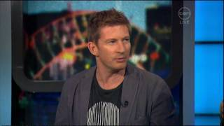 David Wenham interview on The Project (Australia) - 180 Project