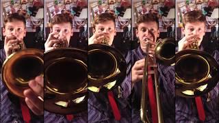 otis redding - sittin' on the dock of the bay brass quintet arrangement  with sheet music - youtube  youtube