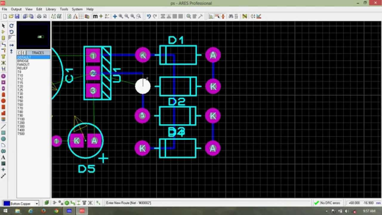Proteus Simulation Pcb Design Of Power Supply Youtube 5vdc To 12v And Isolated Dual Premium