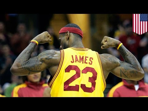 Lebron James jersey:... - TomoNews US  - YUxJ5OzXgi8 -
