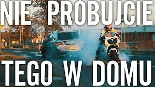 Motocykl holuje Auto - Co Może Pójść Źle?  Sprawdzamy taśmę FiberFix.
