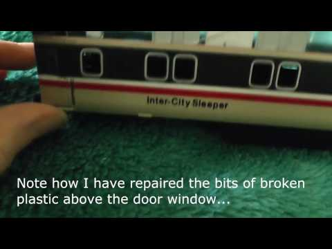 Model Railway Tutorials – Installing Lights in Lima Mk3 Coaches – 2 – Sleeper Coach Restoration
