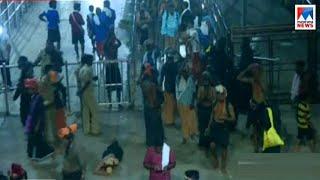 ശബരിമലയിൽ സംഘർഷം തുടരുന്നു Sabarimala Sannidhanam - Nilakkal - report